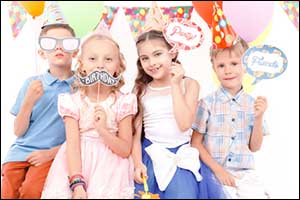 Photo Booth Portland: Birthday Photo Booth Rental for Kids